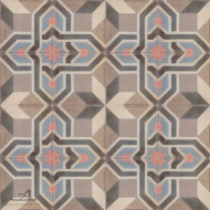 ANTIQUE BROWN CEMENT TILES