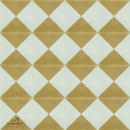 CHECKERS GREEN CEMENT TILES