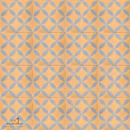 CITRUS PEACH CEMENT TILES