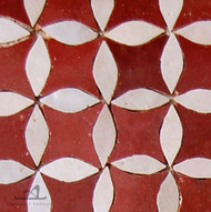 CITRUS RED MOSAIC TILES