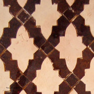 RENAIS BROWN & NATURAL MOSAIC TILES