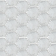 HEXAGON GREY CEMENT TILES