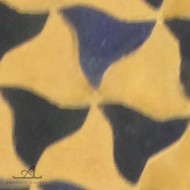 PINWHEELS BLUE & NATURAL MOSAIC TILE