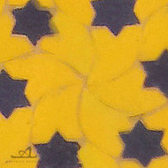 STARS YELLOW MOSAIC TILE