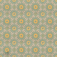 DAISY GREEN CEMENT TILES