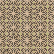 MEDALLION BEIGE CEMENT TILE
