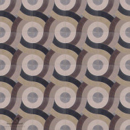SWIRL BROWN CEMENT TILE
