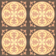 EPOQUE BROWN CEMENT TILE