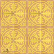EPOQUE YELLOW CEMENT TILES