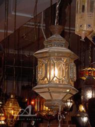 TANGIER NICKEL PENDANT LAMP