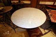 WHITE ANKABOUTI ROUND TABLE