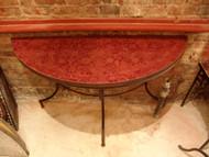 HALF ANKA RED TABLE