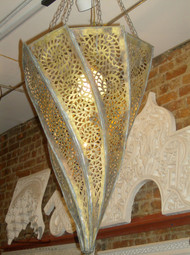 PYRAMID SWIRL LAMP