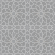 STARBURST GREY CEMENT TILES