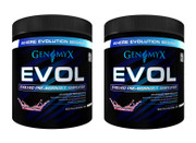 Genomyx EVOL Pre-Workout, Fruit Punch. BOGO Buy 1 get 1 FREE!