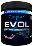 Genomyx EVOL Pre-Workout, Fruit Punch (BLOWOUT Price!)