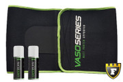 MPA Supplements Ab Cutting Kit (Includes: Neoprene Waist Trimmer + 2 Vasoburn)