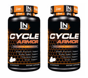 Lecheek Nutrition Cycle Armor 2 Bottle Twinpack