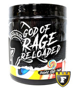 Centurion Labz GOD OF RAGE Reloaded Explosive Pre-Workout (Cosmic Star-Candy)