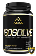 MPA Supplements ISOSOLVE 100% COLD-Filtered Ultra Premium Whey Protein Isolate (Graham Cracker 1.9lb)