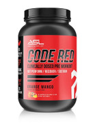 Anabolic Science Labs (ASL) CODE RED Super-Charged Bodybuilding Preworkout (Orange Mango)