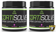 MPA Cortisolve - 2.25oz+2.25oz TWO Jug Twinpack, Both Flavors! FULL 2 month Supply