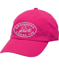 Women's Hot Pink Engineers Local 139 Baseball Hat