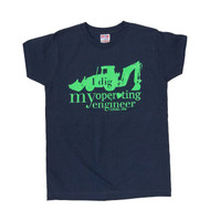 """I Dig my Operating Engineer"" Women's Crew Neck T-Shirt"