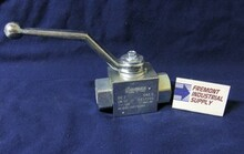 "(Qty of 1) Hydraulic Ball Valve 2 way 1/4"" NPT 7250 PSI FREE SHIPPING"