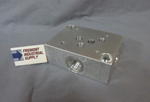 D05 hydraulic directional control valve sub plate #8 SAE Oring boss ports  Power Valve USA