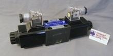 (Qty of 1) Power Valve USA HD-2D2-G03-DL-B-AC115 D05 hydraulic solenoid valve 4 way 2 position double coil 120/60 VOLT AC  Power Valve USA