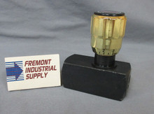 (Qty of 1) Inline hydraulic needle valve #6 SAE 5000 PSI