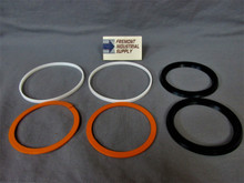 """SKA5-512-12 Hydro-Line A5 cylinder piston nitrile seal kit for 6"""" diameter bore Hercules Sealing Products"""