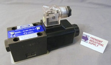 (Qty of 1) Power Valve USA HD-2B2-G03-DL-B-DC24 D05 hydraulic solenoid valve 4 way 2 position single coil 24 VOLT DC  Power Valve USA