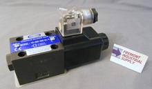 (Qty of 1) Power Valve USA HD-2B2-G03-DL-B-AC220 D05 hydraulic solenoid valve 4 way 2 position single coil 240/60 VOLT AC  Power Valve USA