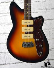 Reverend Jetstream 390 Guitar 3 Tone Burst