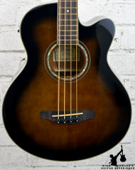 Ibanez AEB10E Acoustic-Electric Bass Dark Violin Sunburst