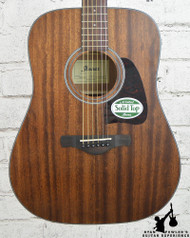 Ibanez AW54OPN Artwood Solid Top Dreadnought Acoustic Open Pore Natural