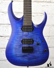 Ibanez RGA42FM Blue Lagoon Flat Electric Guitar