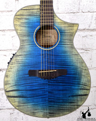 Ibanez AEWC32FM Glacier Blue Low Gloss Acoustic Electric