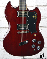 Guild S-100 Polara Cherry w/ Bag