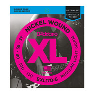 D'addario EXL170-5 45-130 Long 5STR