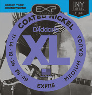 D'Addario EXP115 .011-.049 Coated Med