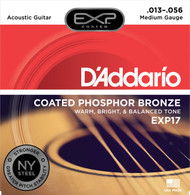 D'Addario EXP17 Coated Phosphor Bronze .013-.056 Med