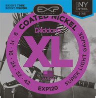 D'Addario EXP120 .009-.042 Coated Super Light