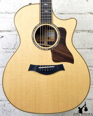 Taylor 614ce Cutaway Grand Auditorium Acoustic-Electric Guitar Natural, V-Class Bracing