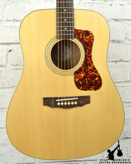 Guild D-240E LTD Flame Mahogany Natural w/ Bag