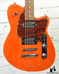 Reverend Flatroc Rock Orange with Roasted Maple Neck