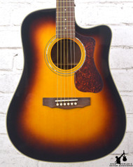 Guild D-140CE Acoustic Electric Sunburst w/ Case