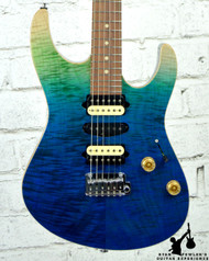 Suhr 01-MPC-0004 Modern Plus Curly Aqua Blue Gradient